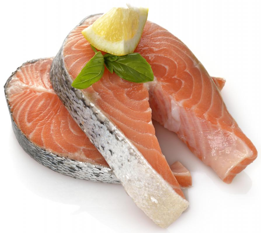 Salmon, a source of Omega-3, can help someone suffering from depression.