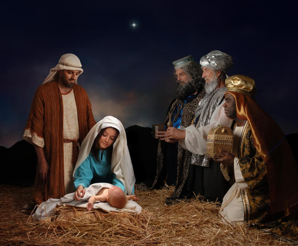 Some say Christman gift giving comes from the wise men's gifts to baby Jesus.