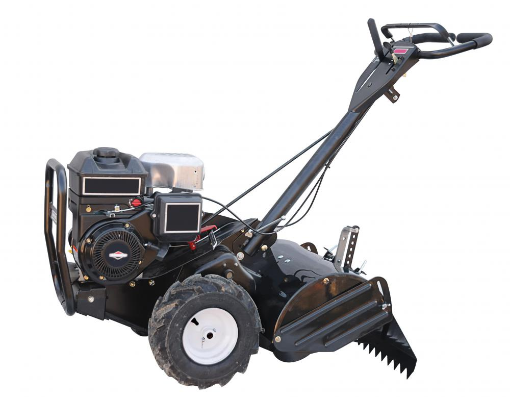 Rear-tine tillers have cutting tines mounted behind the wheels.