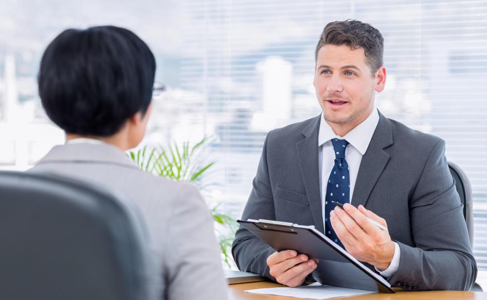 Interview evaluation forms may note a candidate's professionalism during the interview.