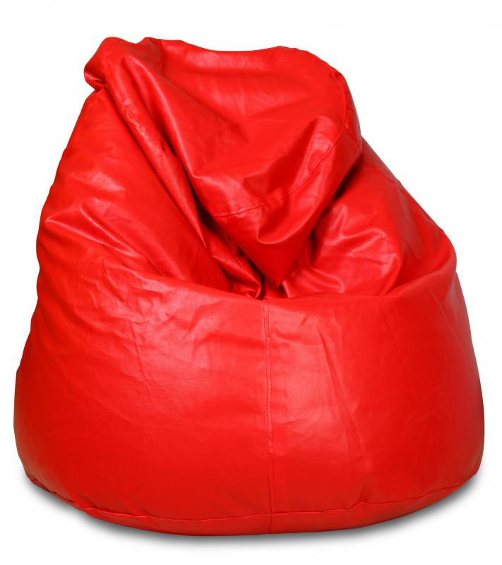 Sitting in a beanbag chair for extended periods of time can cause back pain.
