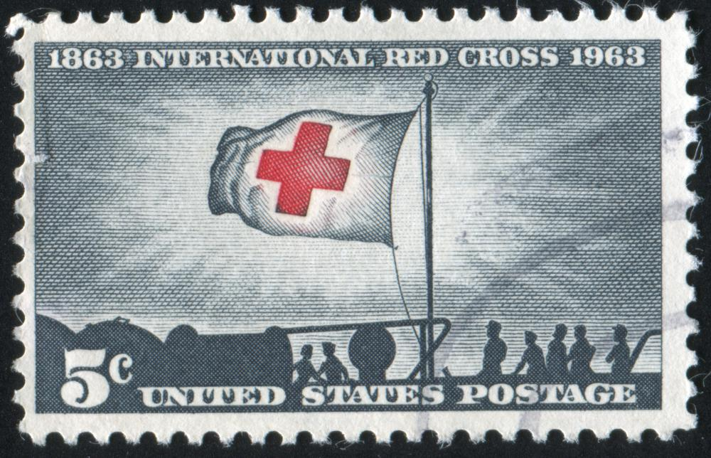 The Red Cross provides first aid courses.