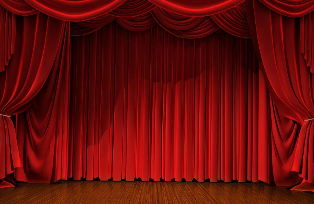 red curtains theatre - photo #3