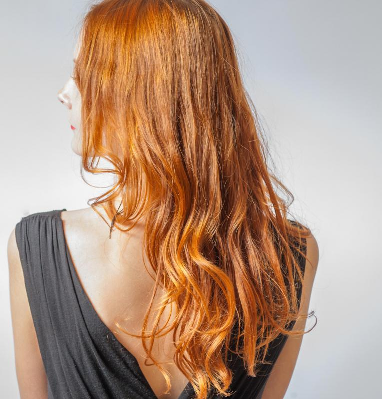 Red hair is the most difficult to change to a caramel color.