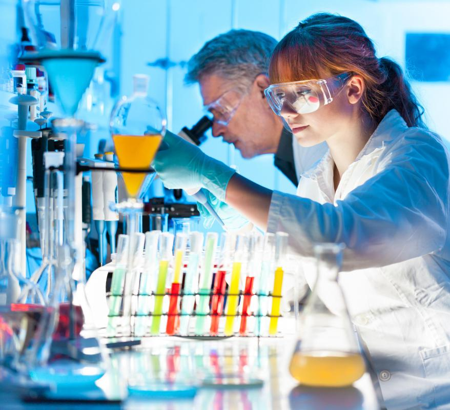 Most DNA scientists and researchers at universities and private labs hold doctoral degrees in genetics.