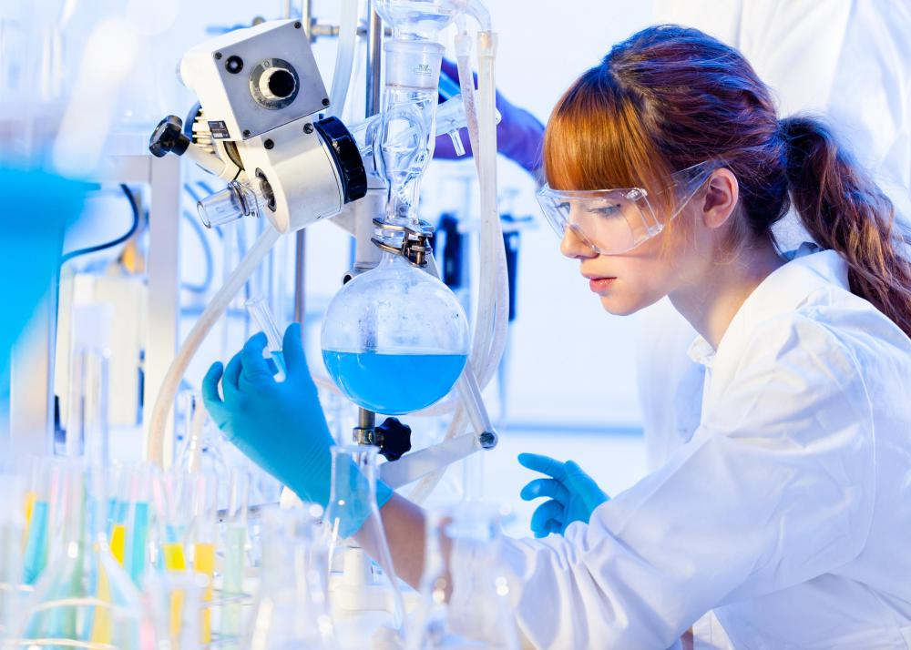 Trained chemists are often deployed in the world of forensic science.