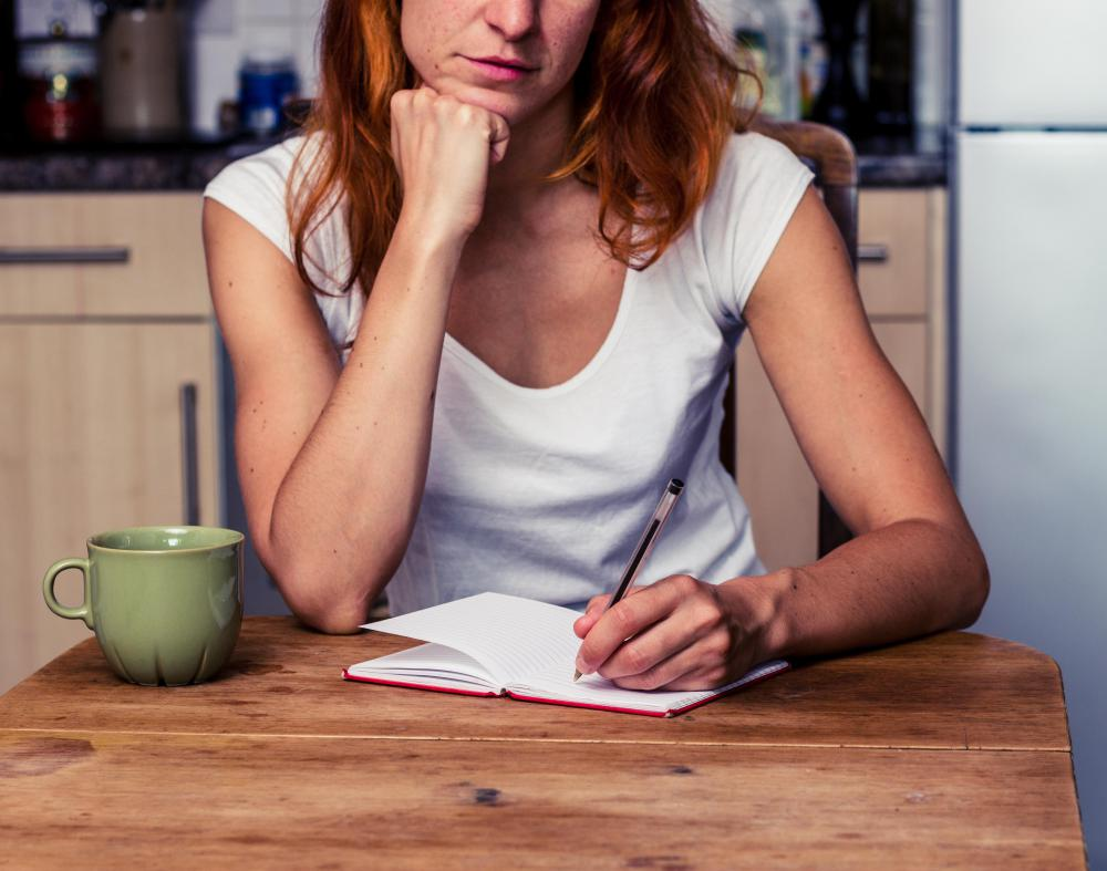 Many people find that keeping a journal is a useful self-help technique for overcoming daily challenges.