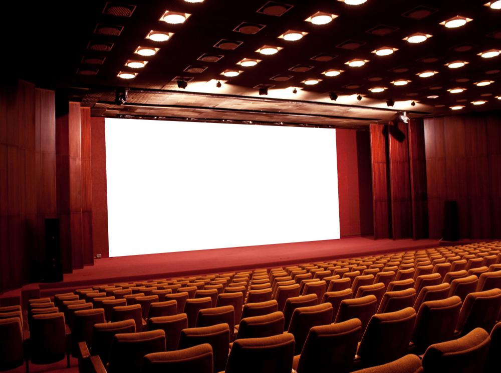 red-movie-theater-with-white- ...