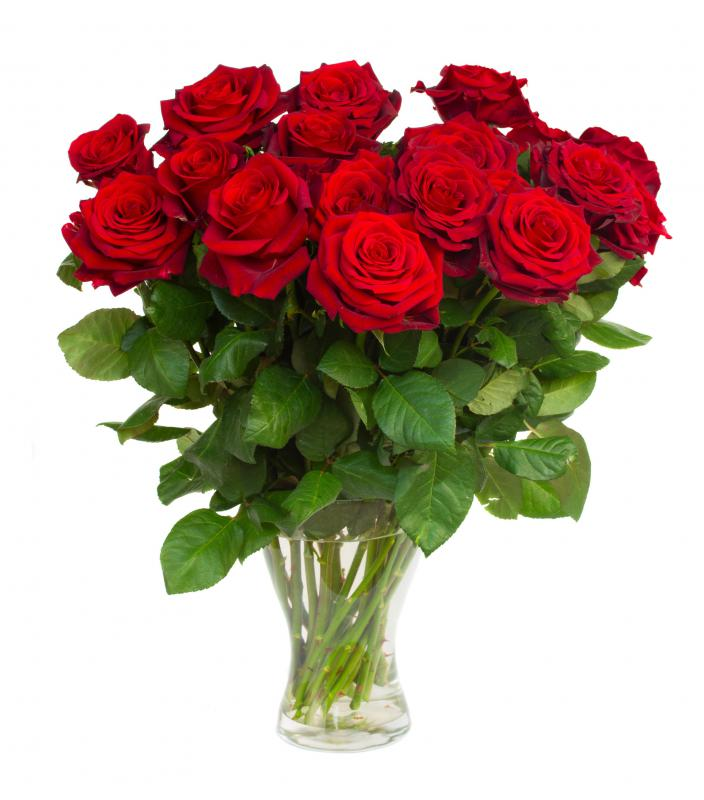 A bouquet of roses are a good gift idea for women for many occasions.