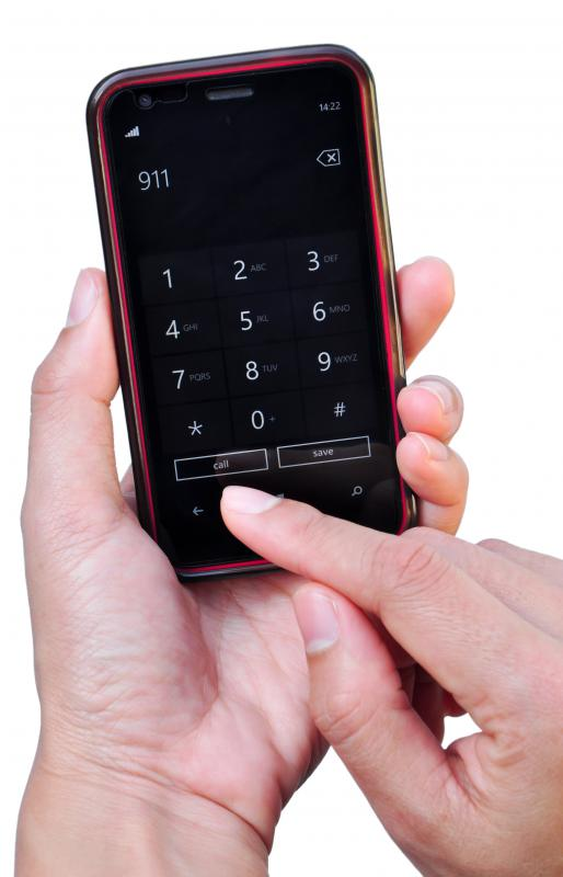 Cell phones can be used for emergency numbers like 911.