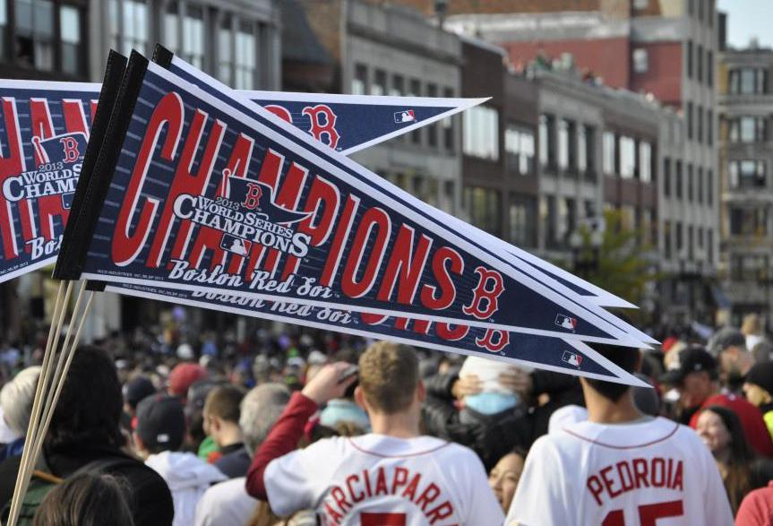 Some Red Sox fans believe that Babe Ruth's ghost winked at Boston fans and decided they had suffered enough when they finally won the World Series in 2004.