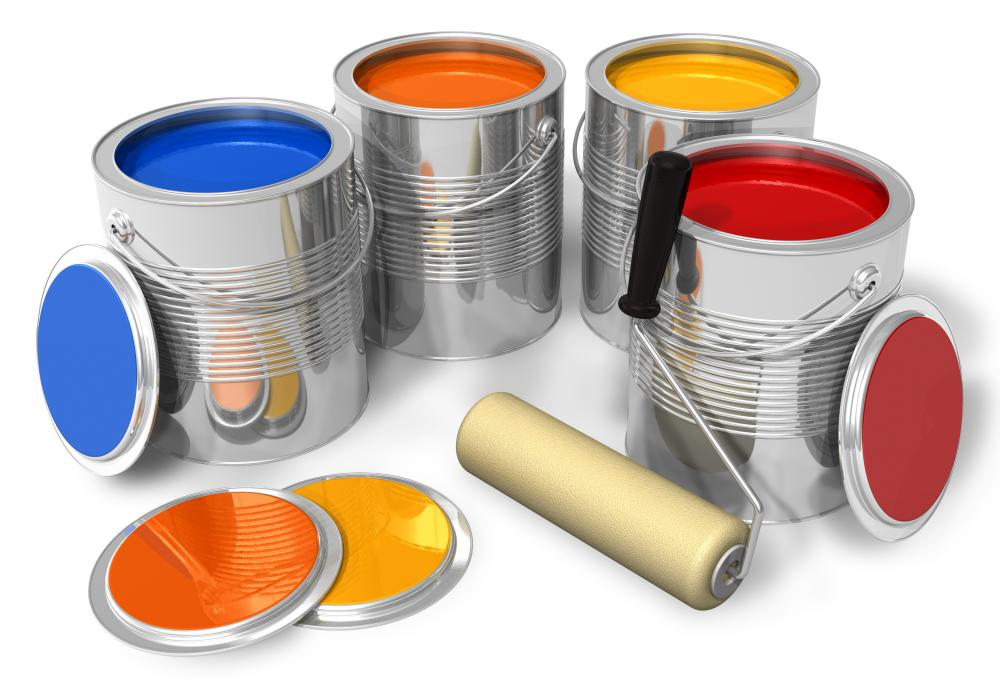 The paint industry produces lines of paint that are designed for specific surfaces.