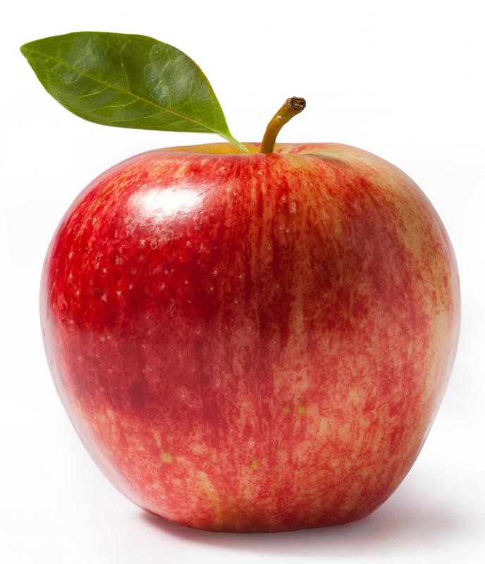Apples can be combined with peaches when making a crisp.