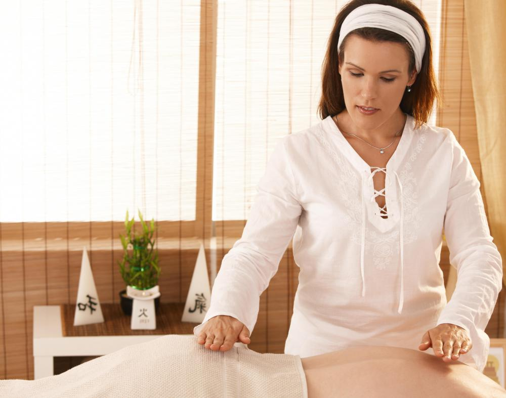 Reiki healing is similar to a massage.