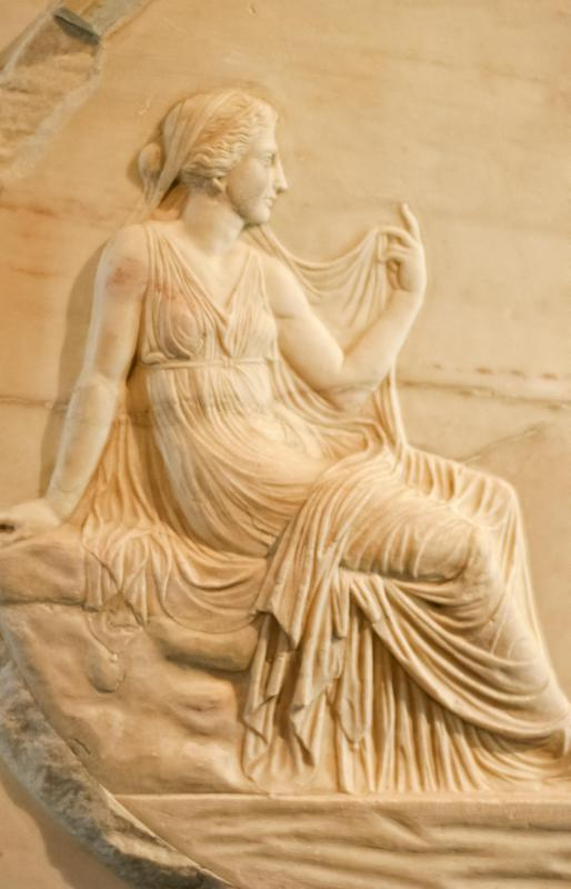Demeter was the goddess of the harvest in Greek myth.