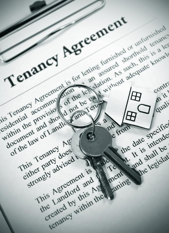 Property rental agreements can be made for residential properties like apartments and houses.