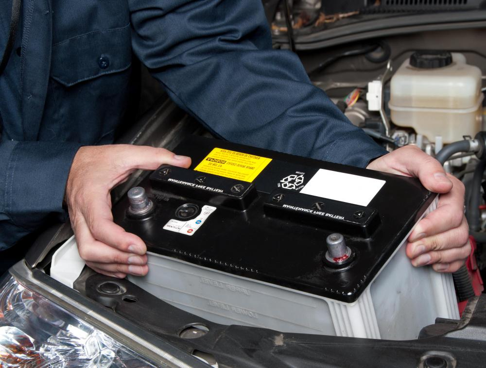 Electrical defects are found by tracking current from the battery.