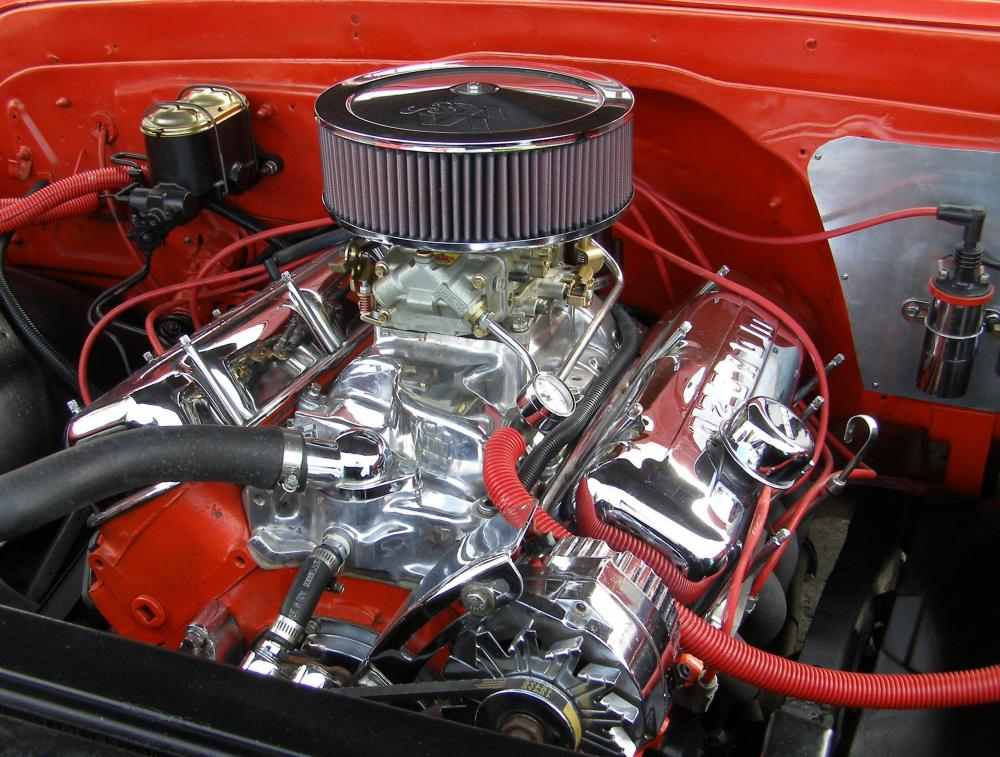 Hot rods often have modified engines that are built for speed.