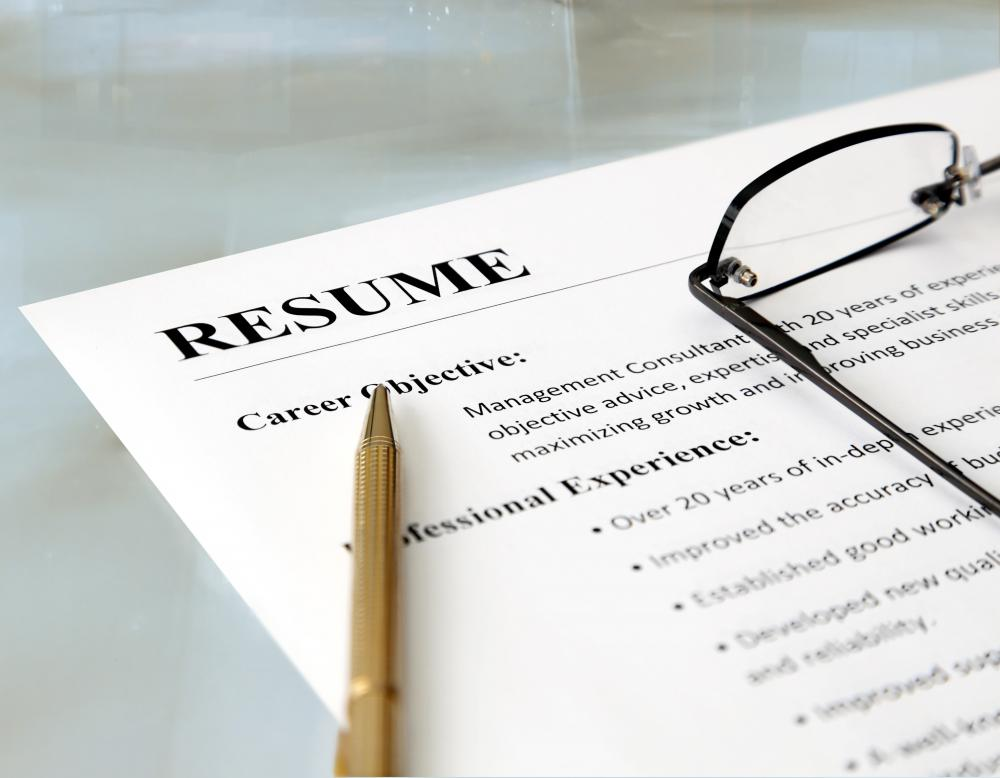 Cv writing services perth