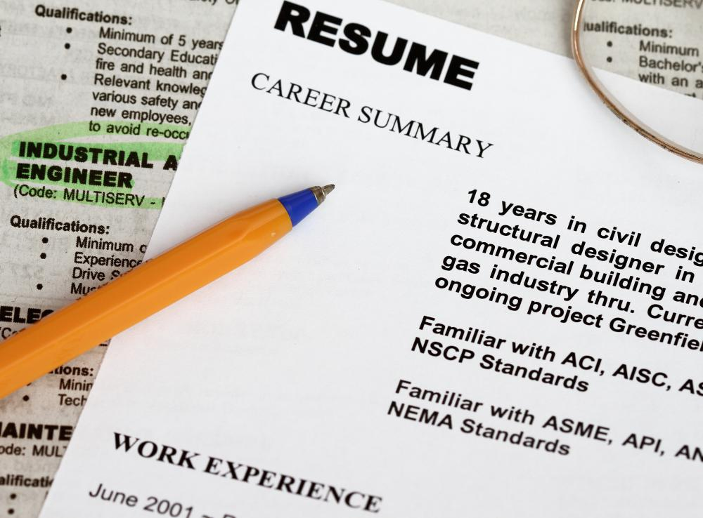 A junior civil engineer gains valuable experience that can later be used on a resume for a senior position.