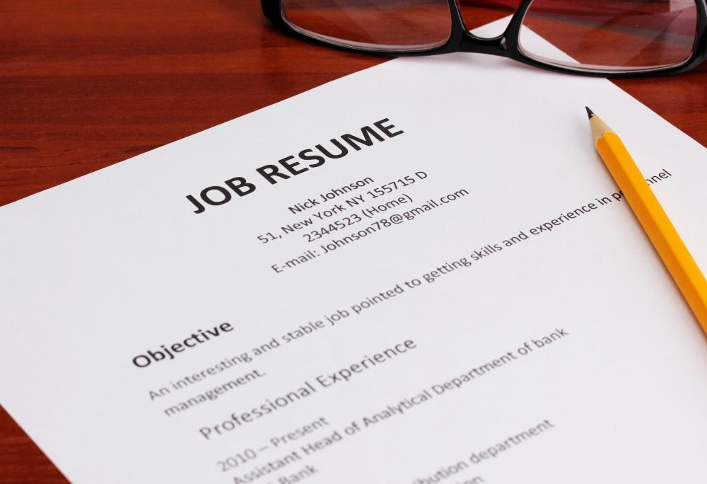 Consider how a part-time job could enhance your resume.