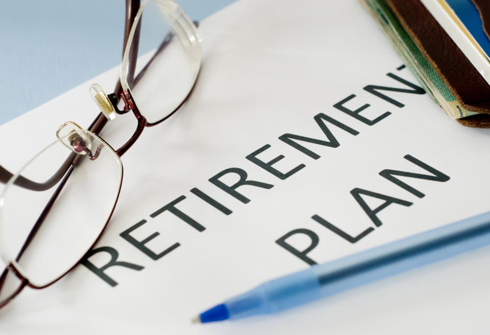 Individual retirement savings accounts can be set up at banks and other financial institutions.