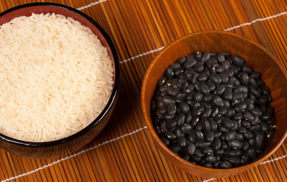 Black beans are high in fiber.