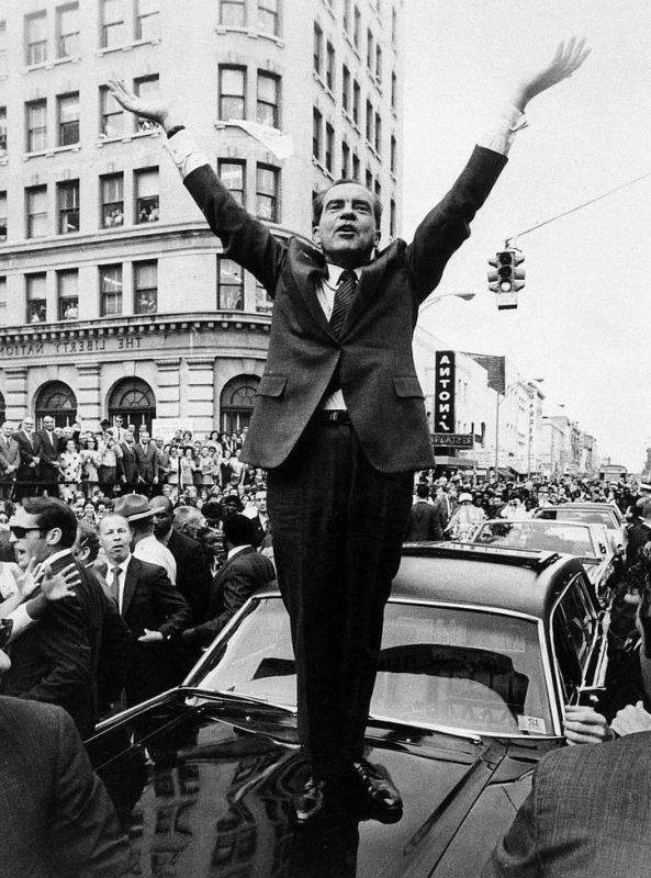 Some believe the chaos of the 1968 Democratic National Convention eventually helped the election of President Richard Nixon.