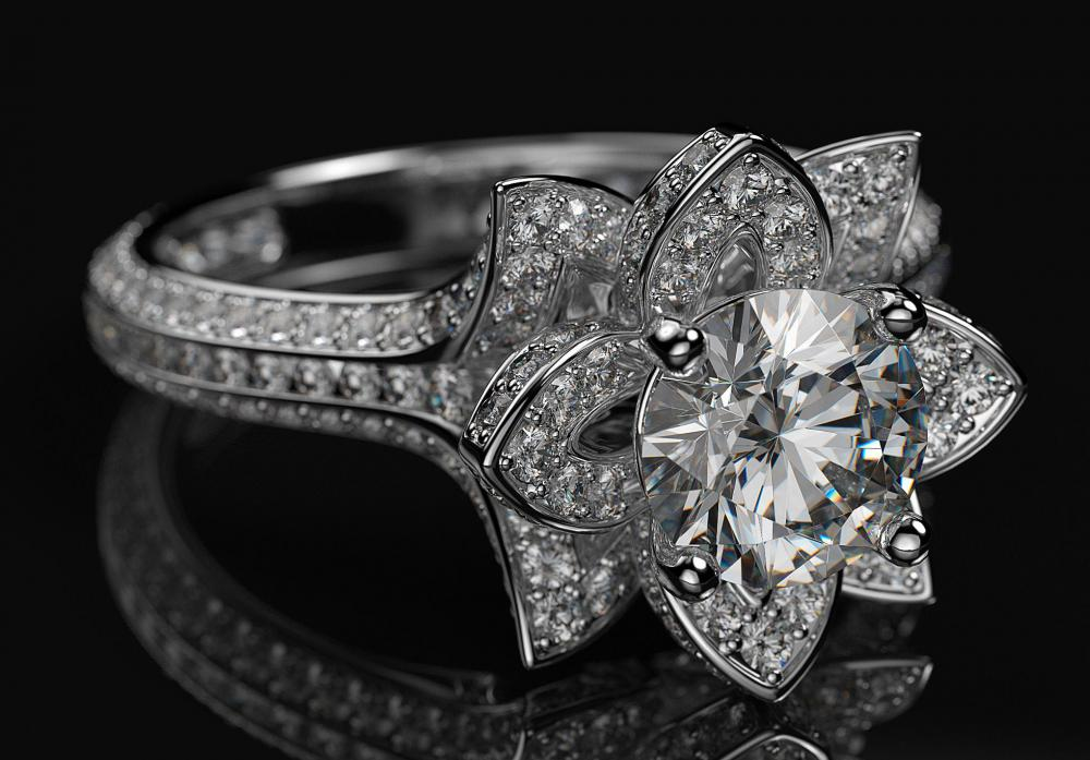 Engagement rings come in an array of styles to suit any taste.