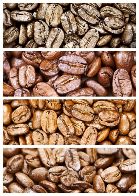 Blended coffee achieves its unique flavor by mixing beans roasted to differing degrees.