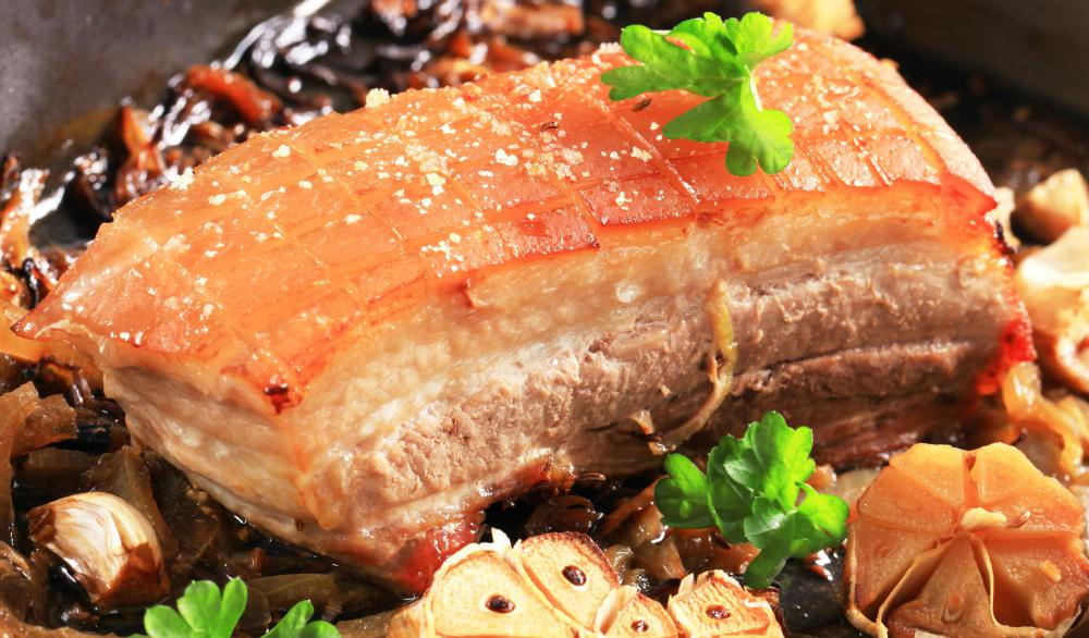 Pork filet mignon is generally cheaper than beef tenderloin.