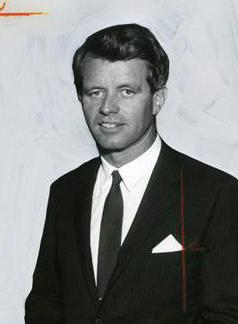 Marilyn was rumored to have had an affair with Robert Kennedy.