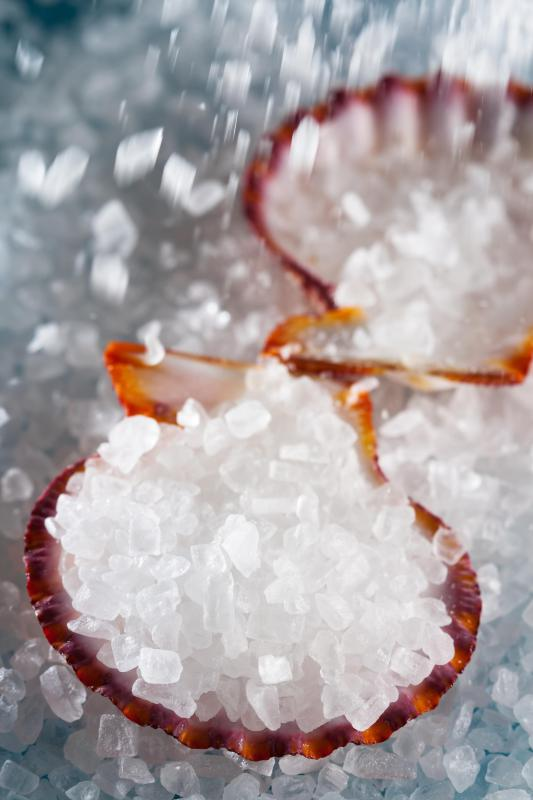 Rock salt can be used for a variety of things from making ice cream to making a body scrub.