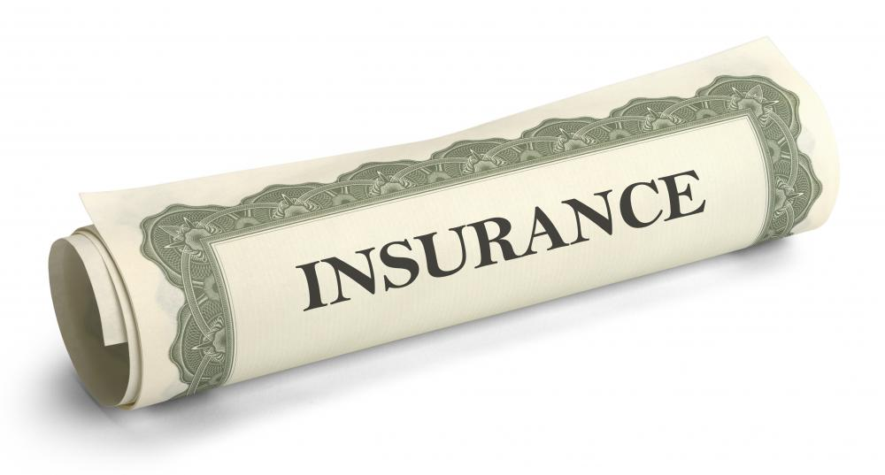 Insurance companies offering group life insurance base the policy fees on the risks of the group as a whole.