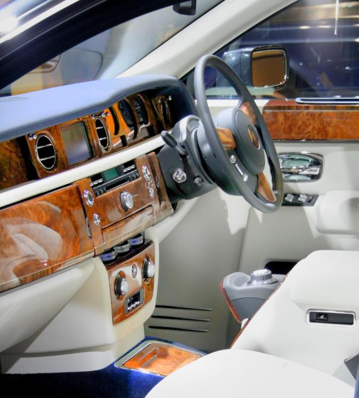 The dashboards of Rolls Royces are made of birdseye maple.