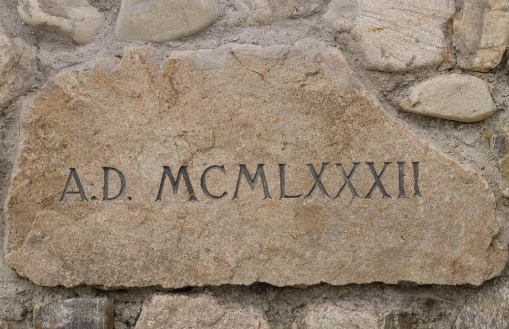 Roman Numerals are a numbering system that uses letters to represent numbers.
