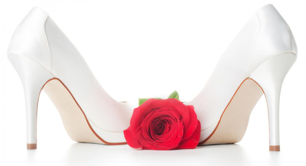 Wearing high heels can cause heel and ankle pain.