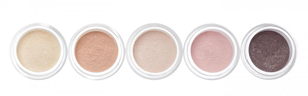 Shimmer blush can be purchased in a range of colors from light pink to brown.