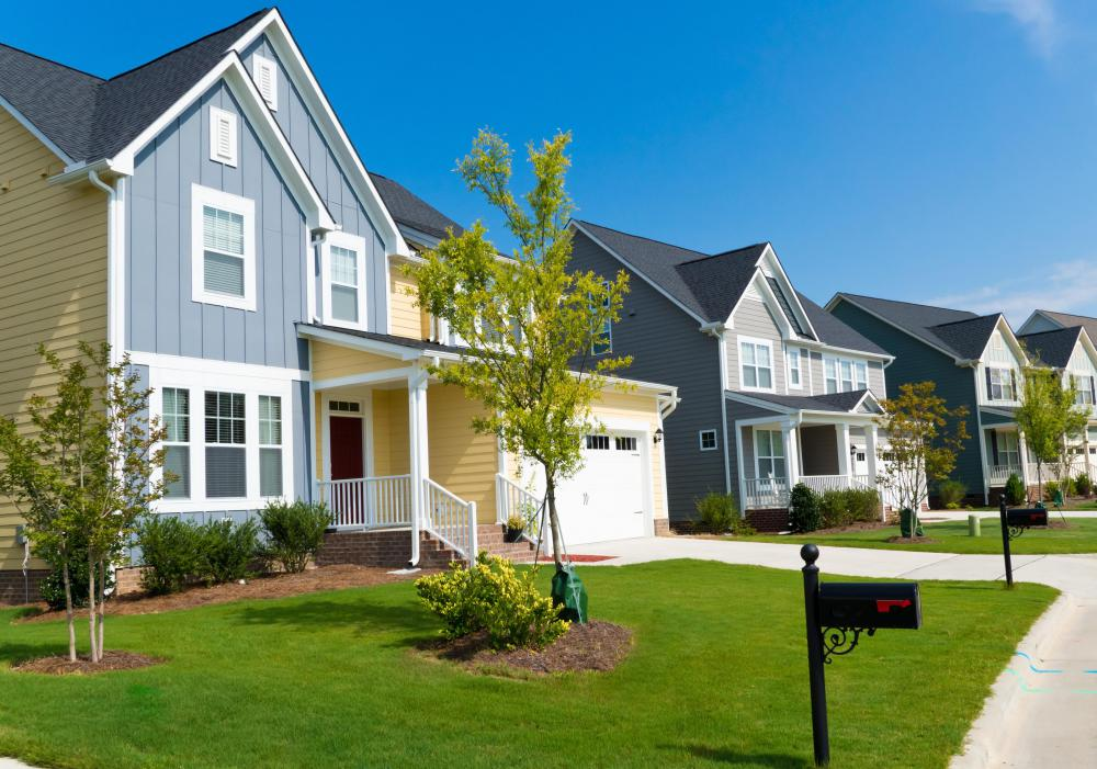 An attractive exterior increases a house's curb appeal.