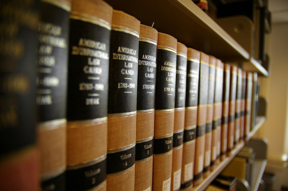 Books containing codes of international law.