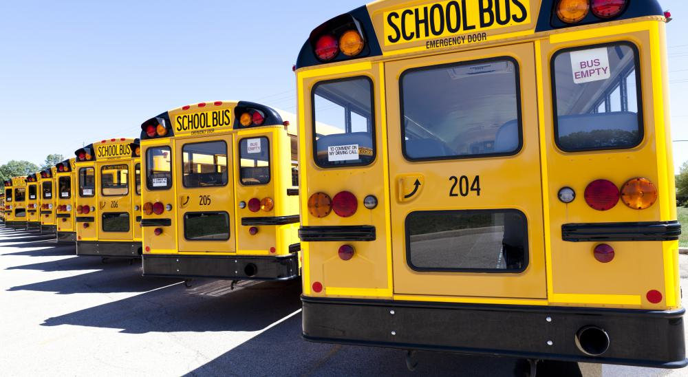 Bus service may not be provided for students during summer months.