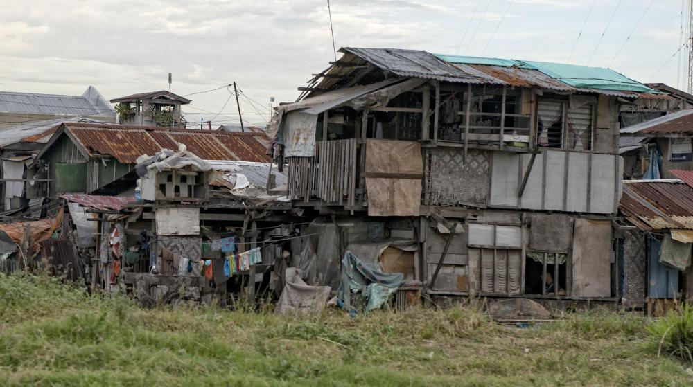 Poor living conditions often contribute to poverty.