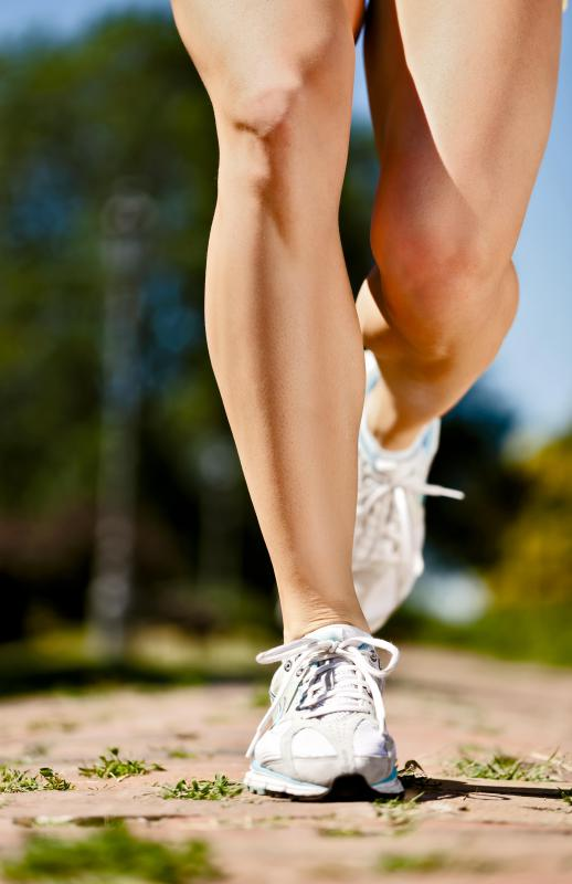 Shin splints while running can be a problem with a person's running gait.