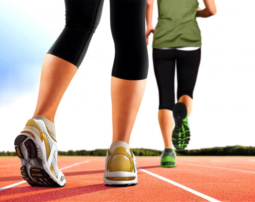 Warming up -- such as by walking -- can help prevent hamstring injuries during a workout.