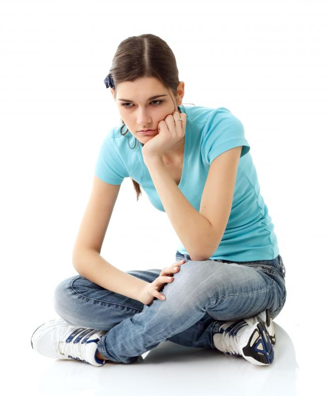 The emotional conflict of teen years is often described as angst.