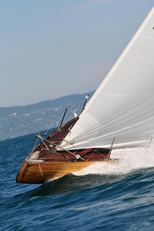 Spinnakers are common on sailboats and yachts.
