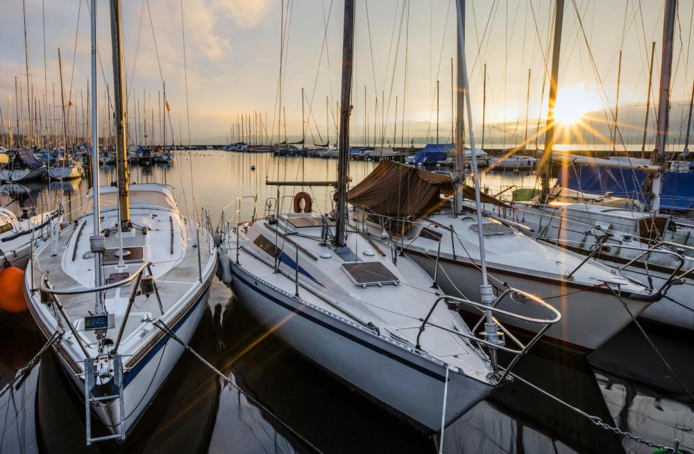 Some yacht brokers provide centralized mooring services where they can show boats to potential buyers.