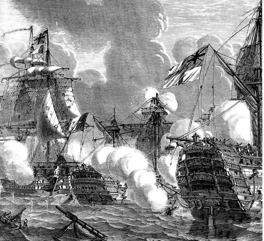 Following the Royal Navy's victory at the Battle of Trafalgar in 1805, the British Empire established a maritime hegemony that lasted throughout the 19th Century.