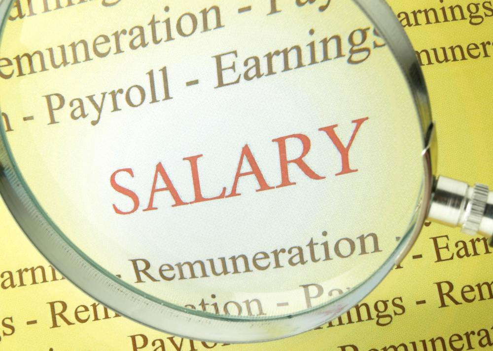 Salary refers to wages paid to an employee of a company as financial compensation based on the work that employee does for a company.