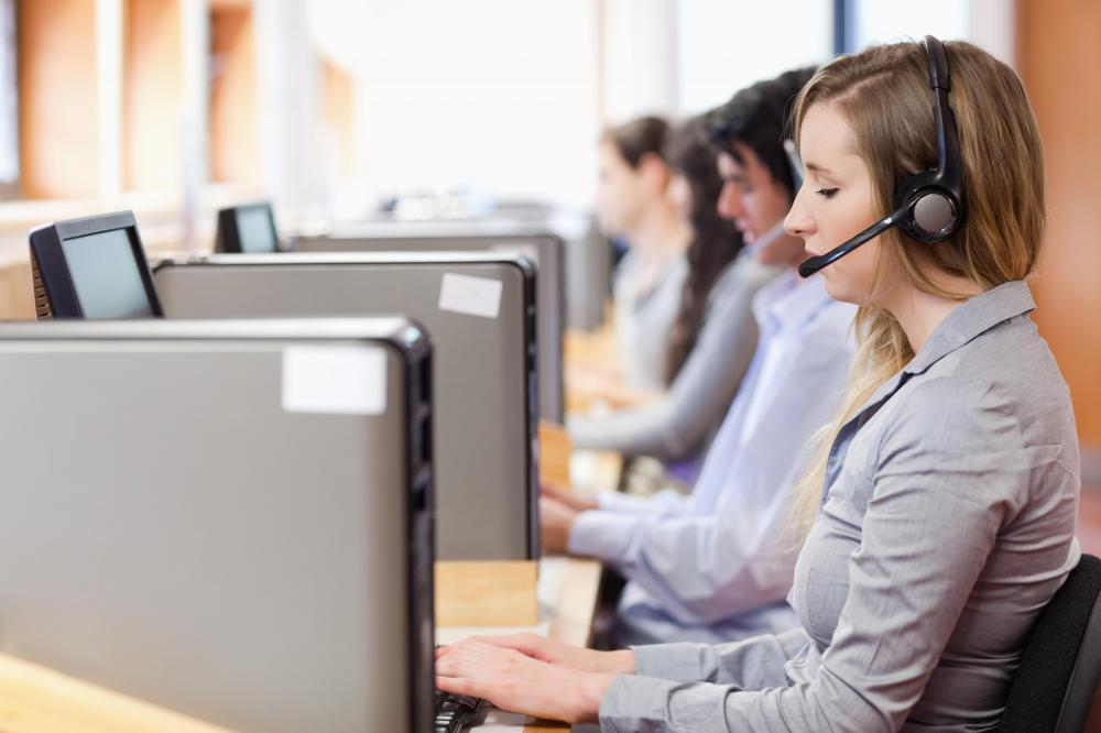 Customer service positions are an example of back office work.